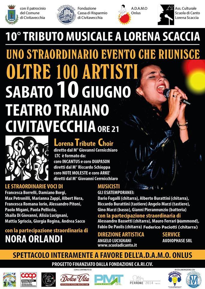 10 tributo musicale lorena scaccia